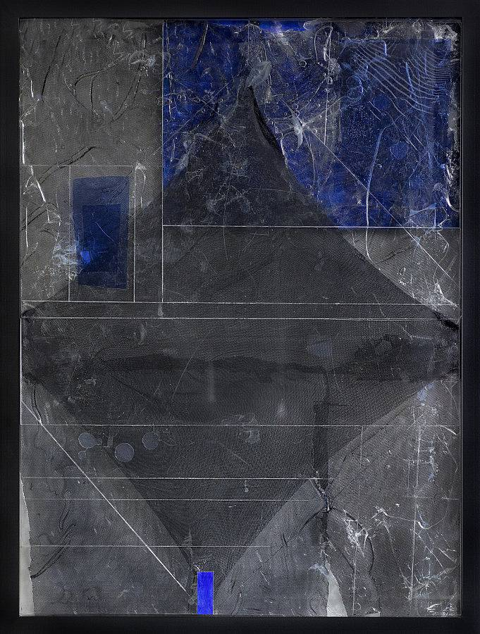 Steel/Glass 30 (Screen/Void) 2015 - 36 x 48 inches