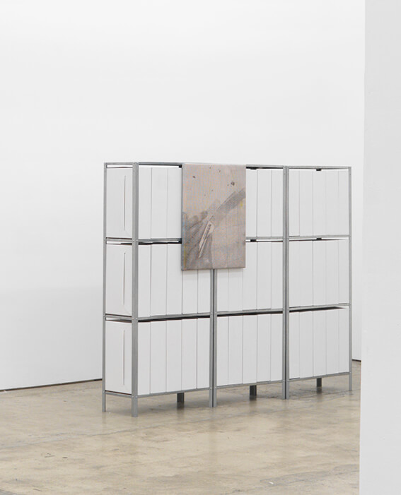 E.H.D Handling sculpture , Stand Inn solo show, Johannes Vogt, 2015