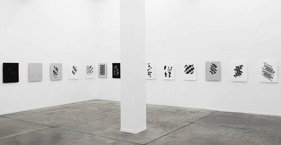 Installation view: On the Decomposition of a Plane