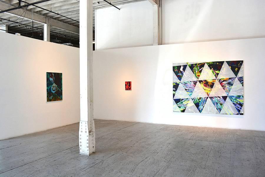 Jered Sprecher, Installation shot, Stacking Stones at Gallery 16, 2014.