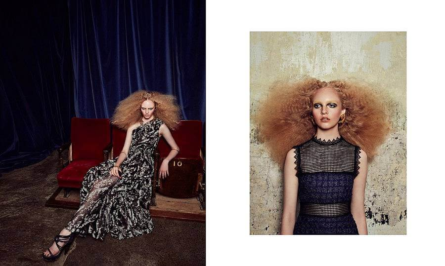 Olivia Photographed & Styled by Anna Peftieva