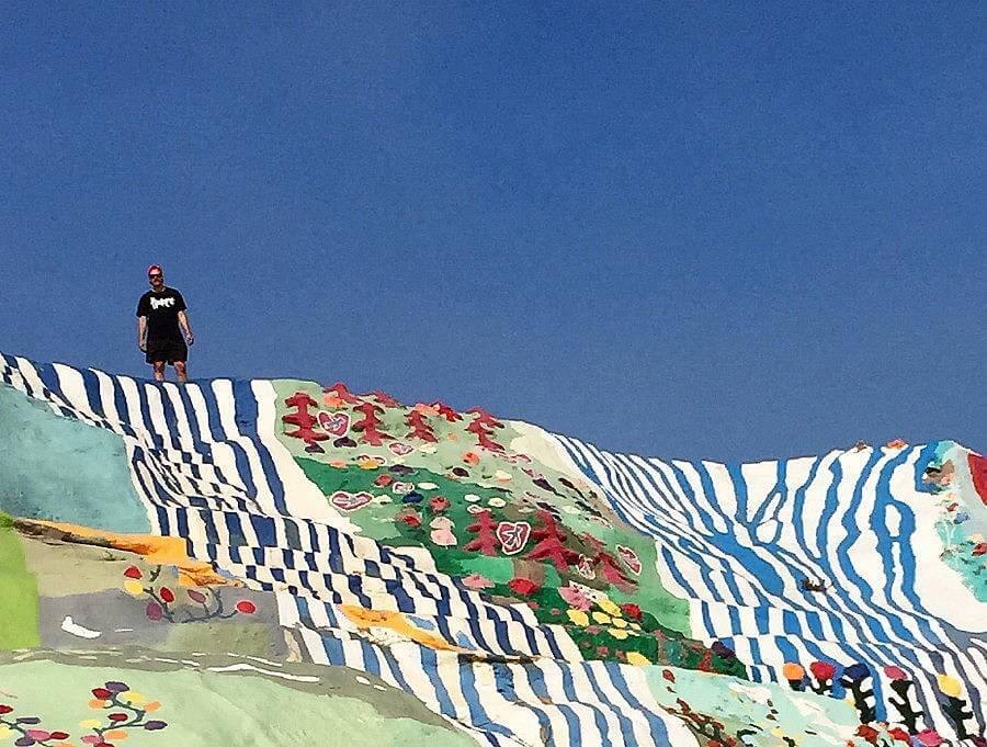 AT SALVATION MOUNTAIN copy