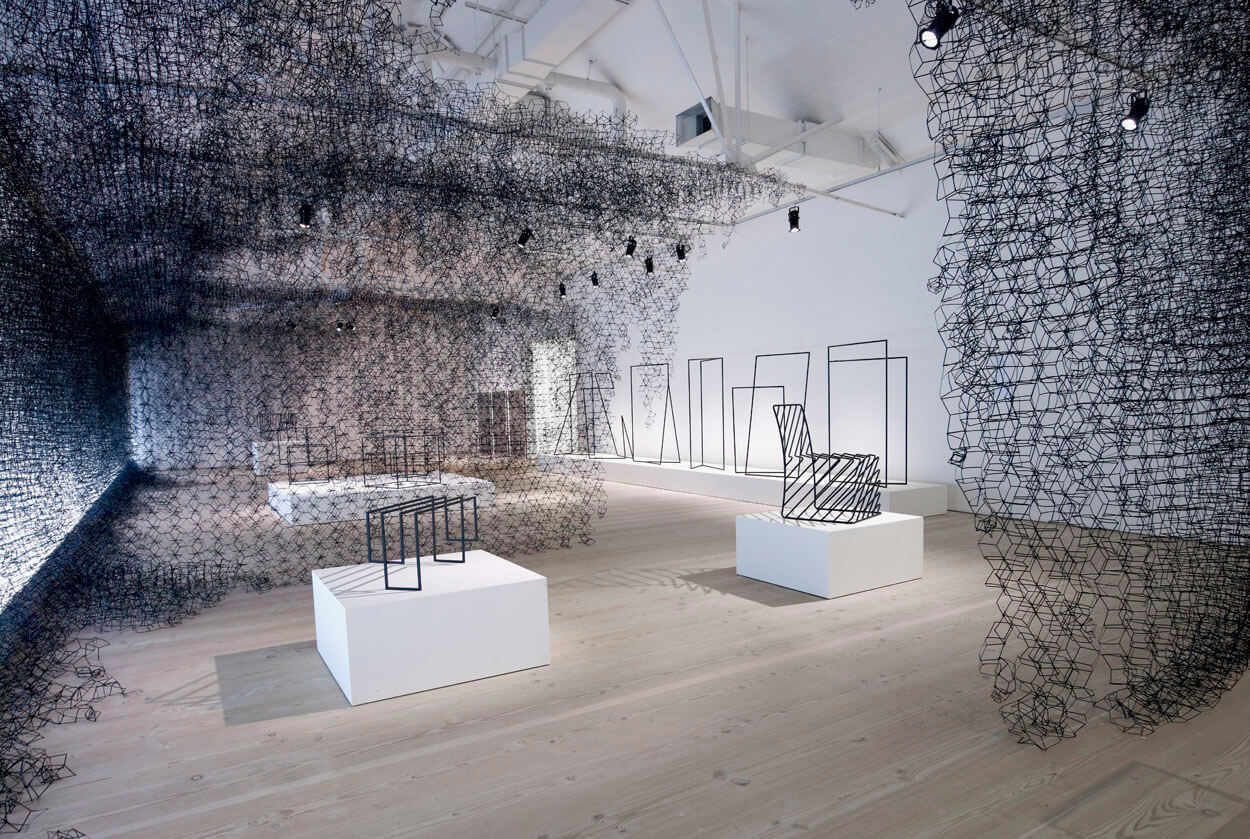 Nendo ThinBlackLines_PhillipsdePury_SaatchiGallery_2010