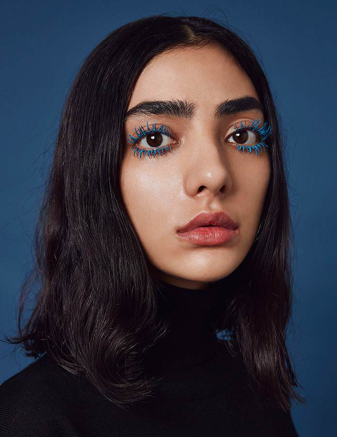 Yasmine shot by John Michael Fulton for The Beauty Manifesto