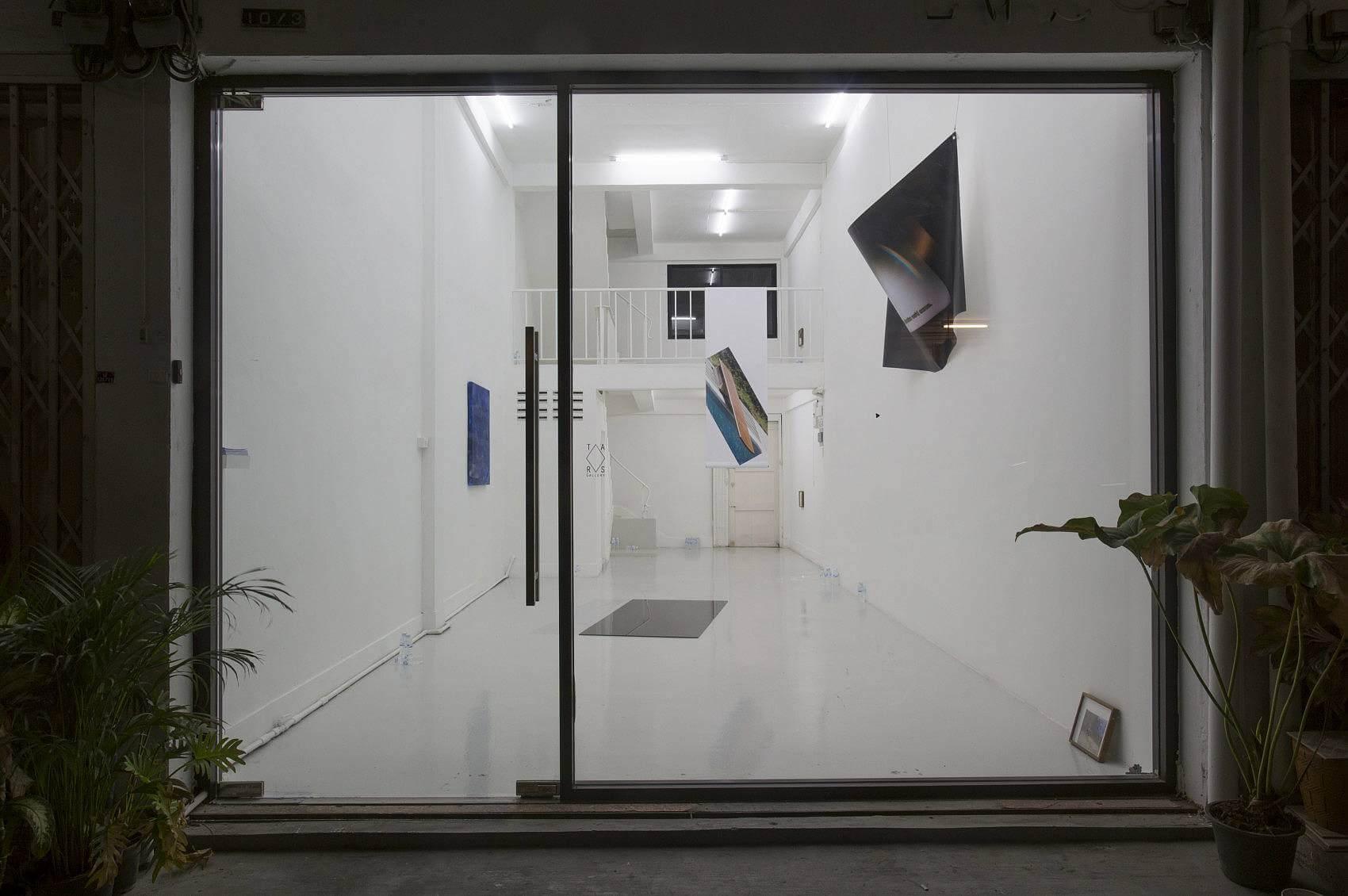 NOITE, exhibition view, TARS Gallery, Bangkok, Thailand, 2016