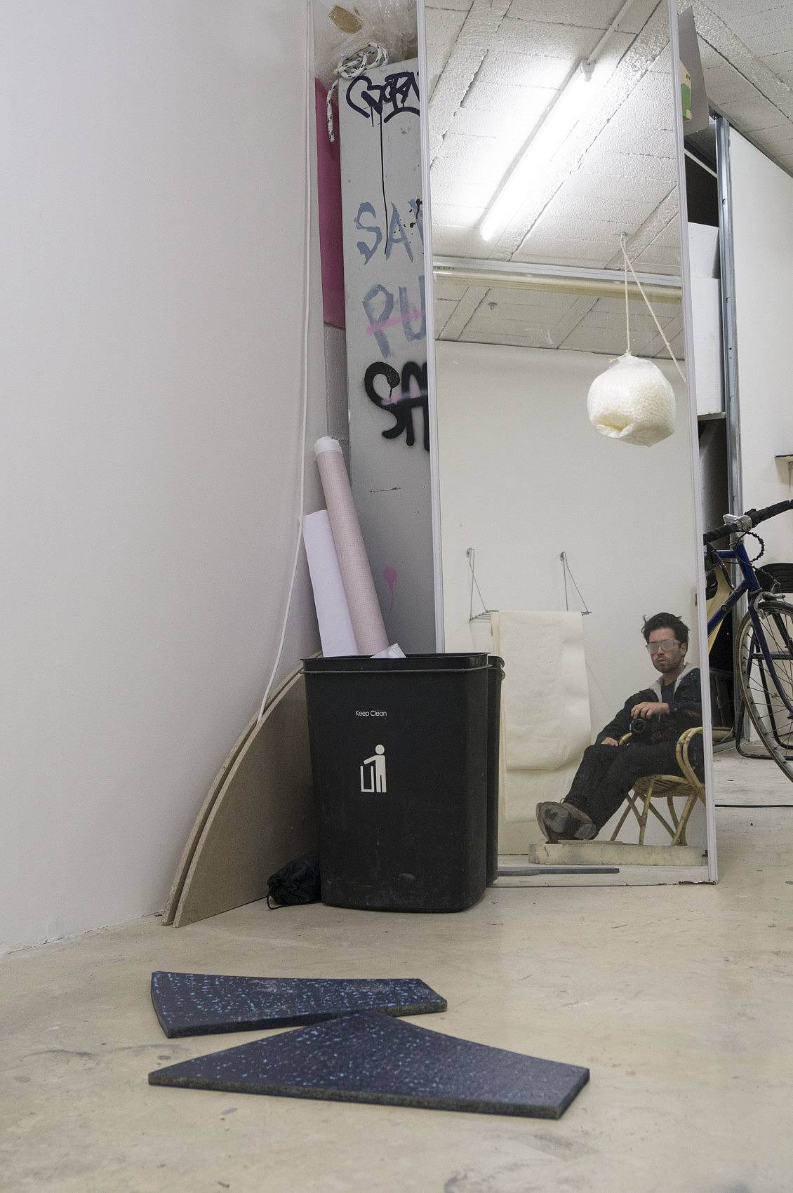 Bruno Silva in studio