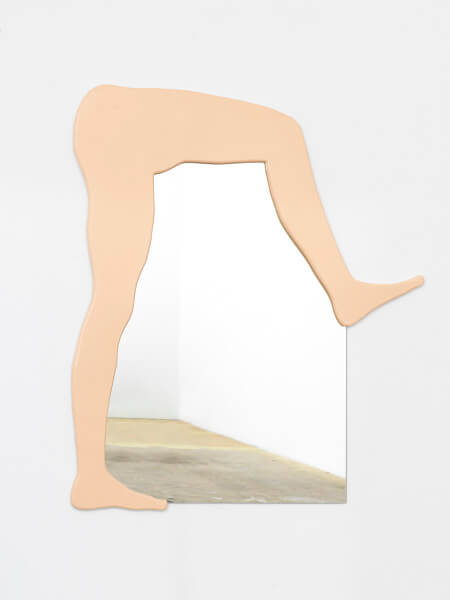 Untitled (bent legs mirror)