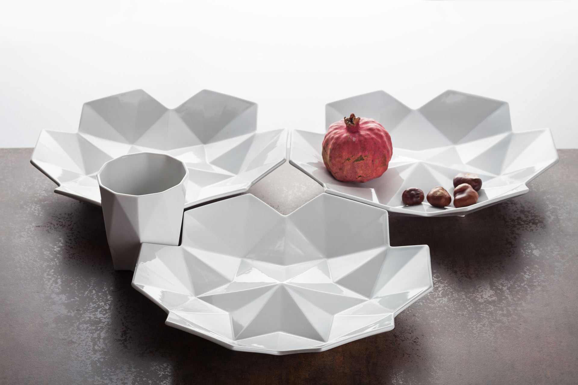 Lilia geometric porcelain