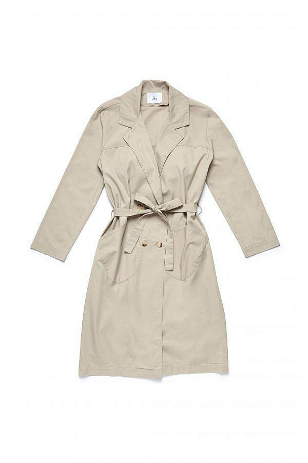 Khaki Slims Trench