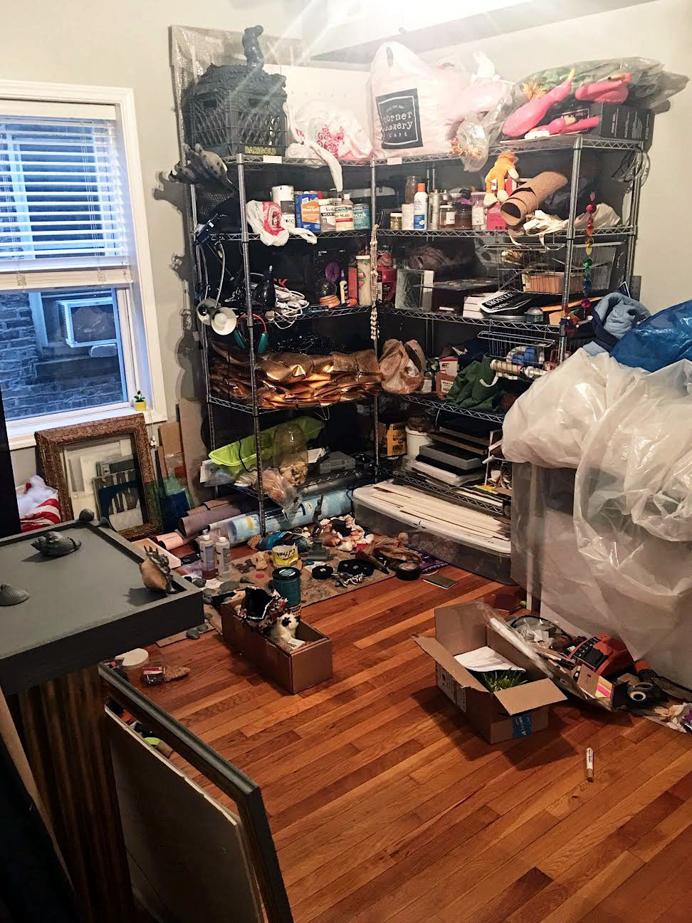 Matthew's studio